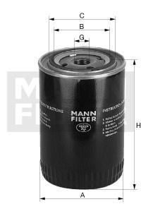 WA9140 Фильтр охлаждающей жидкости Mann filter - фото 11897