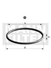 DI76-05 Уплотнение для корпуса фильтра Mann filter - фото 7652