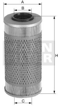 H925/2 Масляный фильтр Mann filter - фото 7877