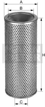 HD15174X Масляный фильтр высокого давления Mann filter - фото 7933
