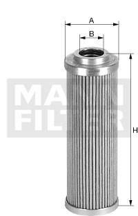HD414/2 Масляный фильтр высокого давления Mann filter - фото 7939