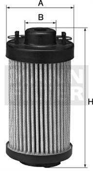 HD419/1 Масляный фильтр высокого давления Mann filter - фото 7941