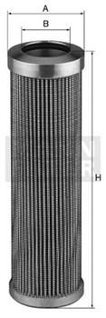 HD509/4 Масляный фильтр высокого давления Mann filter - фото 7959