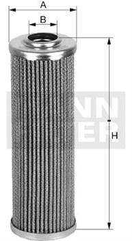 HD514/2 Масляный фильтр высокого давления Mann filter - фото 7966