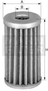 P32 Фильтр топливный Mann filter - фото 9314
