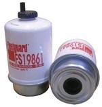 FS19861 Топливный сепаратор элемент Fleetguard