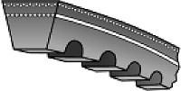 Ремень клиновой ZX52 1320Li / 1343Lw Roulunds