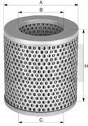 C1112/1 Воздушный фильтр Mann filter