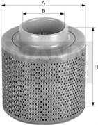 C1131 Воздушный фильтр Mann filter