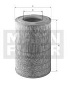 C301730/1 Воздушный фильтр Mann filter