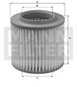 C33962 Воздушный фильтр Mann filter