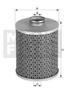 H1032 Масляный фильтр Mann filter