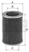 HD1258/2 Масляный фильтр высокого давления Mann filter