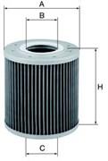 HD1330 Масляный фильтр высокого давления Mann filter