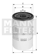 LB1374/20 Фильтр маслоуловитель Mann filter