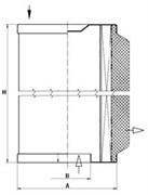 LE10002 Воздушно-масляный сепаратор 110_50_286 Mann filter