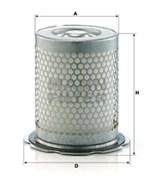 LE10005X Воздушно-масляный сепаратор 200_170_180 Mann filter