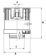 LE1010 Воздушно-масляный сепаратор Mann filter