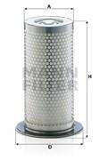 LE11011 Воздушно-масляный сепаратор 165_135_250 Mann filter