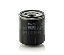 MW68 Фильтр масляный для мотоциклов Mann filter