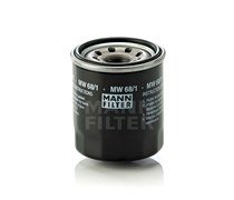 MW68/1 Фильтр масляный для мотоциклов Mann filter