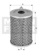 P1018/1 Фильтр топливный Mann filter